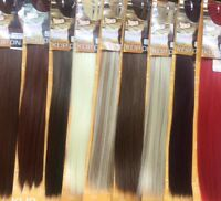 """Aftress Clip on Synthetic hair extensions 7 pieces full head 20 clips 18""""-20"""""""