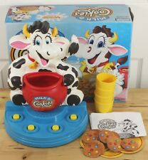 VTG 1996 Parker Bros. Milk And & Cookies Electronic Cow Preschool Game Complete!