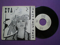 EVA Time Time Time SPAIN 1-SIDE PROM0 45 1987 Spanish Italo Disco Synth Pop