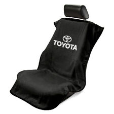 NEW Black Universal Seat Armour Toyota Logo Front Seat Cover Towel Camry Corolla