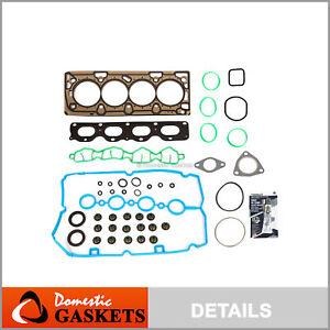 Head Gasket Set Fits 09-11 Chevrolet Aveo Pontiac G3 Cruze Sonic 1.6 1.8 LXV LUW