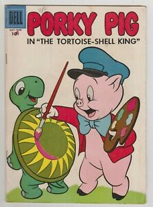 PORKY PIG #52 VG+ 1957 DELL COMICS
