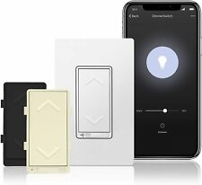 TOPGREENER Smart Dimmer Switch, Neutral Wire Required, Works with Alexa TGWF500D