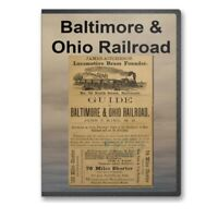 Baltimore and Ohio RR Railroad - 15 Historic Book Collection CD - D249