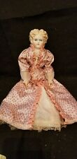 """VINTAGE BLONDE CHINA HEAD DOLL FRANCES DAVIS MARKED BODY beautifully painted 17"""""""