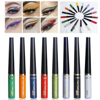 Beauty Metallic Shiny Smoky Eyes Eyeshadow Waterproof Glitter Liquid Eyeliner