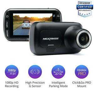 Nextbase 222 Dash Cam Series 2 1080p HD Car Recorder Night Vision Powered Mount