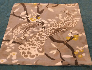 """Dwell Studio Fabric Pillow Cover 19.5"""" width x 19"""" length, Reversible"""