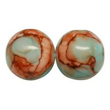 50 /'WILD ORCHID/' DRAWBENCH GLASS BEADS 8mm PINK TOP QUALITY ORC3