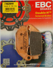 EBC BRAKE PADS Fits: Honda CRF250L,MSX125 Grom