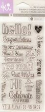 Hampton Art - KI Clear Stamps - Everyday Sayings - Sentiments, You Rock, Friends