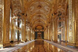 Fototapete PALAST - VLIES (968) Schloss von Versailles Kremli Barock Design XXL