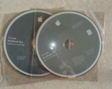 13- MacBook Pro OS X           Snow LEOPARD 10.6.3    -  2 DVD