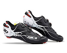 SIDI SHOT Road Cycling Shoes - Matt Black/White [Size: 40~47 EUR]