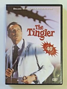 THE TINGLER Movie DVD Vincent Price 1999 Release Original 1959 Columbia Tristar