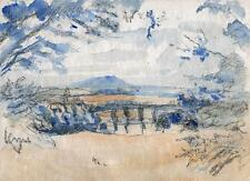 IMPRESSIONIST LANDSCAPE Painting c1940 WALTER SICKERT Pupil FRANK GRIFFITH