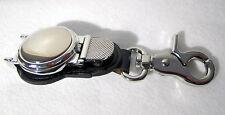 Clip Pocket Watch - Pewter Fronted - Journeyman - Plain.