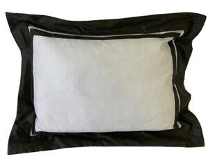 RALPH LAUREN 12 X 16 Throw Pillow NWT Bowery Style Met Gray MSRP $115.00