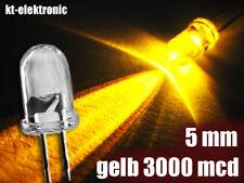 25 Stück LED 5mm gelb superhell