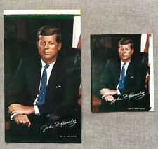 Two Vintage John F. Kennedy colored photos by Fabian Bachrach - 1960