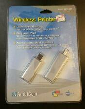 Ambicom Wireless Printer Kit Plug and Play Windows Mac WP-KIT USB New Retail