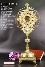 Rare Fine Monstrance Ornate Beautiful with Tabor Pedestal TP-8-X72-A