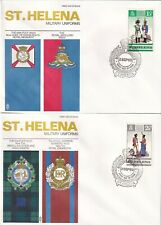 A4271 St Helena 8 different First Day Covers; 24 Jan 1966 to 3 Sep 1969