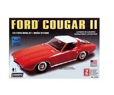 Lindberg 72166  Ford Cougar II Static Car Kit 1/25 Scale New Boxed T/48 Post