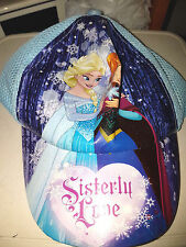 Berretto Sisterly Love - Disney FROZEN Anna e Elsa Originale Poliestere - Nuovo
