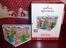 2016 HALLMARK KEEPSAKE ORNAMENT CANDY LAND FAMILY GAME NIGHT CHILDHOOD MEMORIES