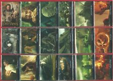 LORD OF THE RINGS - THE RETURN OF THE KING 2 - 2004 TOPPS - 72 CARD SET (OI01)