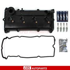 Fits 02-06 Nissan Altima Sentra SE-R 2.5L Valve Cover NGK Iridium IX Spark Plugs