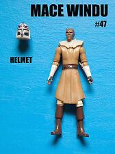 Star Wars Clone Wars Mace Windu Action Figure! Army Builder!