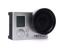 3 en 1 58mm Filtro UV + Adaptador Anillo + Lente Tapa Para Go Pro Hd Hero 4 3 Reino Unido Vendedor