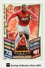 2012-13 Match Attax Man Of Match Foil Card #423 Antonio Valencia (Man Utd)