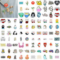 Fashion Lovely Cute Cartoon Enamel Lapel Badge Collar Pin Corsage Brooch Jewelry