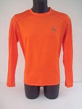 Roberto  Cavalli t- shirt  arancio  tg 46 con finitura colorata