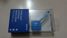 Official genuine Nokia Treasure Tag WS-2 NFC Bluetooth Sensor - CYAN Sealed