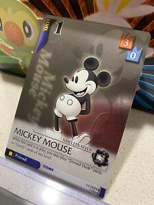 Kingdom Hearts Mickey Mouse SR TCG Disney Card Super Rare English 11/162 NM/LP