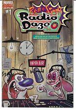 Ren & Stimpy Radio Daze MARVEL Absurd Comic # 1!