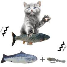 New listing Flippity Fish Cat Toy Electric Floppy Moving Fish Catnip Kicker Toy