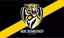 AFL Richmond Tigers Game Large Flag 60 cm x 90 cm (NO STICK/FLAG POLE)