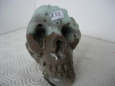 Crystal Skull chinese amazonite clawed features wow