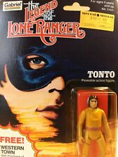 VINTAGE 1980 GABRIEL THE LEGEND OF THE LONE RANGER TONTO FIGURE MOC