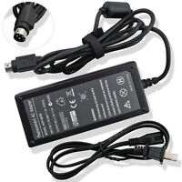 12V 4-Pin DIN AC Power Adapter Charger Supply for Sanyo CLT2054 LCD TV Monitor