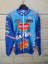 Veste cycliste BATIK DEL MONTE SCOTTI cycling jacket giacca BIEMME 4 L