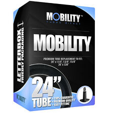 "24"" Mobility Wheel Chair Tube - 24"" x 1 1/4, 1 1/2, 1 3/8 - RRP £7.99 [D11-1]"