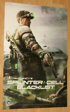 Splinter Cell Blacklist & Metal Gear Rising double sided mini Poster 45x30cm