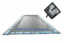 16x32 Rectangle 15 Yr Warranty Inground Swimming Pool Winter Cover