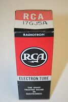 Rare Old Vintage VHTF RCA 17GJ5A Electronic Vacuum Tubes New Old Stock
